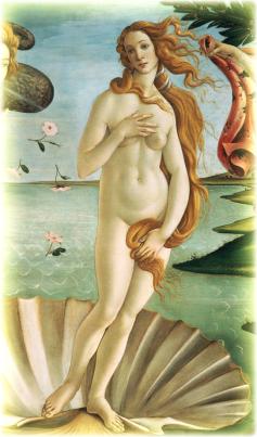 """""""Раждането на Венера"""" - от Сандро Ботичели"""