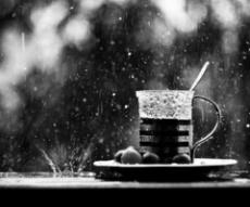 дъжд чай